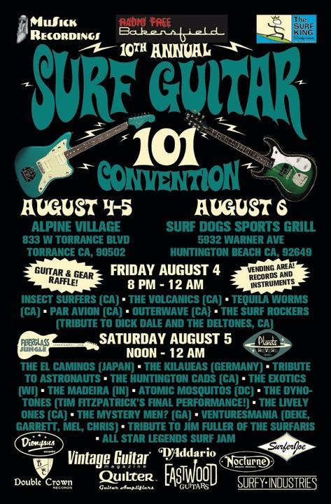 10th Annual SurfGuitar101 Convention Day #2