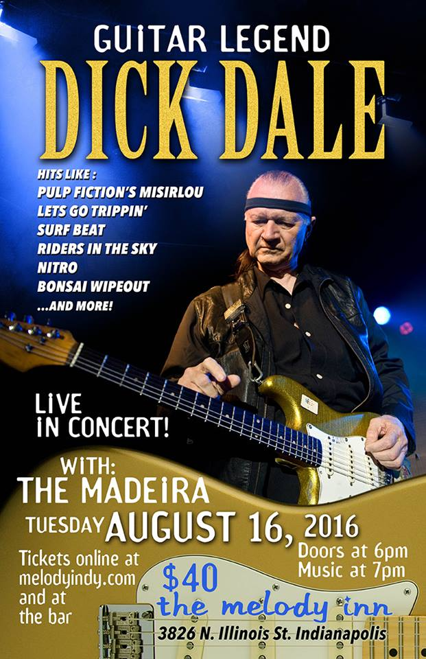 Dick Dale at The Melody Inn with The Madeira