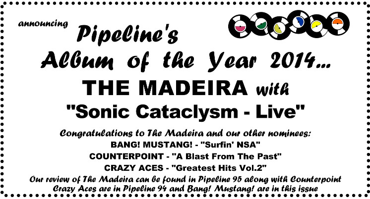 Pipeline 2014 Album of the Year