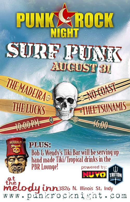 Punk Rock Night: Surf Punk