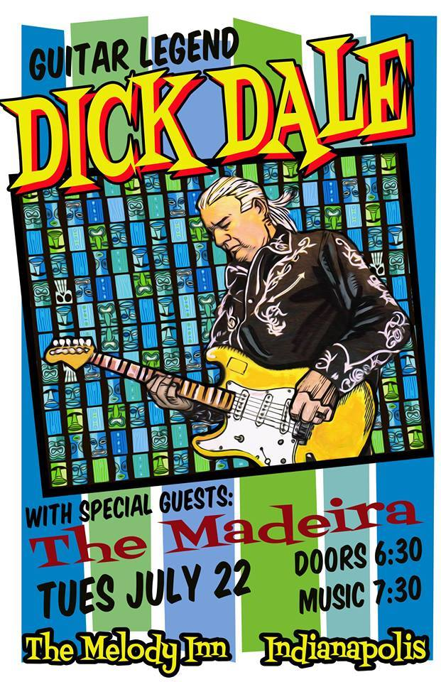Opening for Dick Dale!
